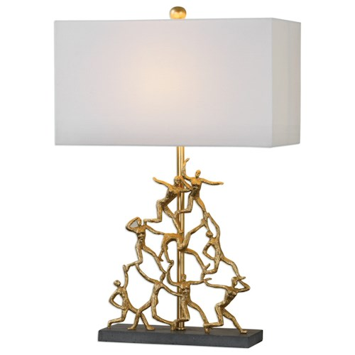 Uttermost Lamps Golden Gymnasts