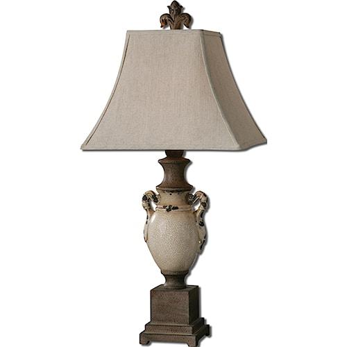 Uttermost Lamps Francavilla Ivory