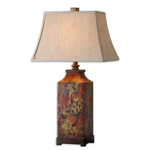 Uttermost Lamps Colorful Flowers