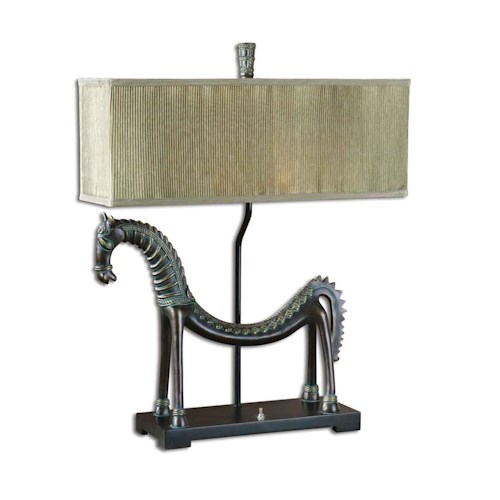 Uttermost Lamps Tamil Horse Table
