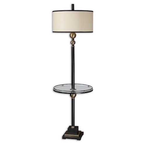 Uttermost Lamps Revolution End Table Lamp