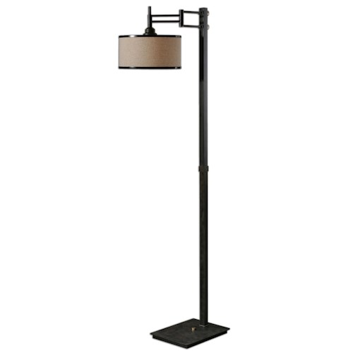 Uttermost Lamps Prescott Metal Floor Lamp