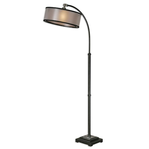 Uttermost Lamps Worland Arc Floor Lamp