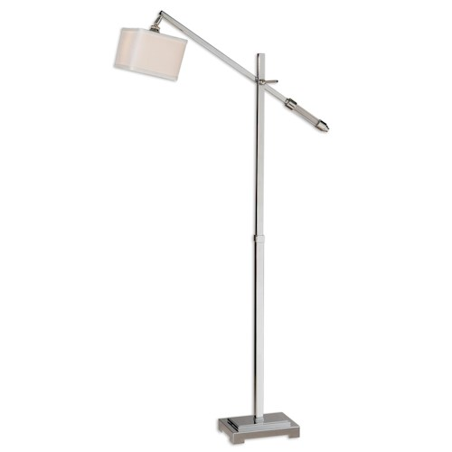 Uttermost Lamps Waldron Modern Floor Lamp