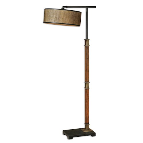 Uttermost Lamps Allendale Drum Shade Floor Lamp