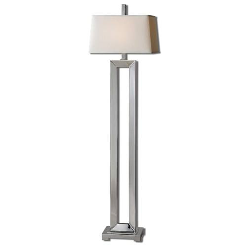 Uttermost Lamps Coffield Metal Column Floor Lamp