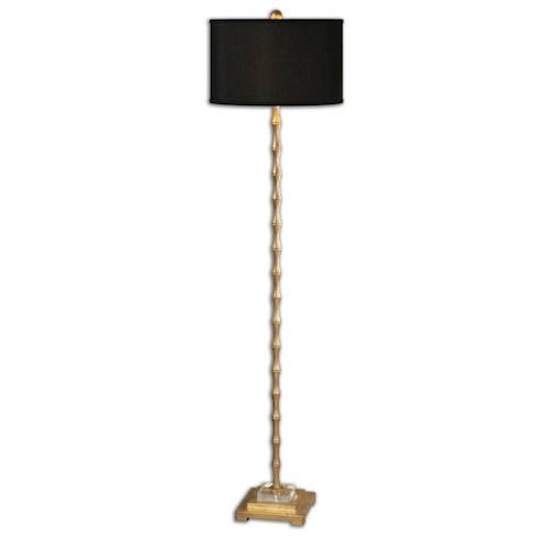 Uttermost Lamps Quindici Metal Bamboo Floor Lamp