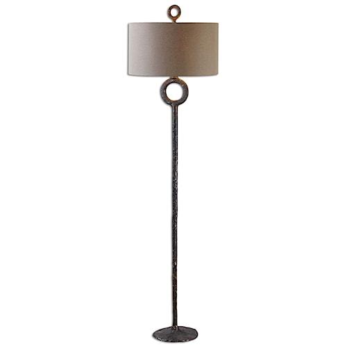 Uttermost Lamps Ferro Cast Iron Floor Lamp