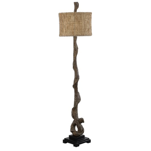 Uttermost Lamps Driftwood Floor Lamp
