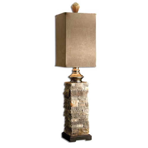 Uttermost Lamps Andean Buffet