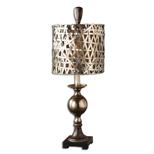 Uttermost Lamps Alita Champagne Buffet