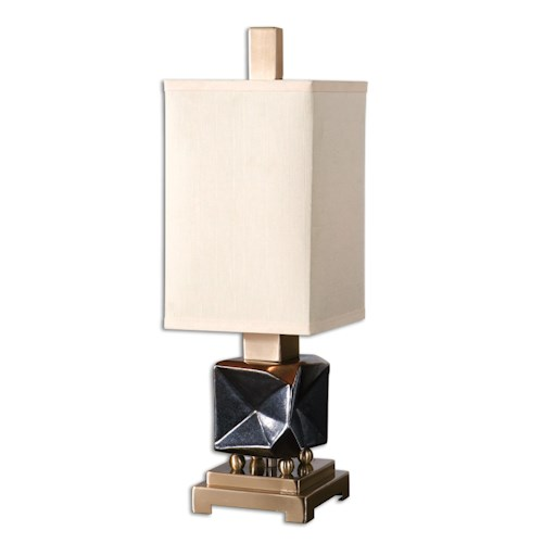 Uttermost Lamps Calva Oxidized Bronze Buffet Lamp