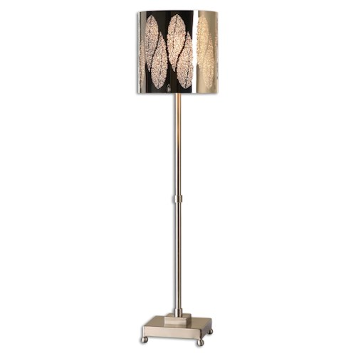 Uttermost Lamps Fronda Brushed Nickel Buffet Lamp