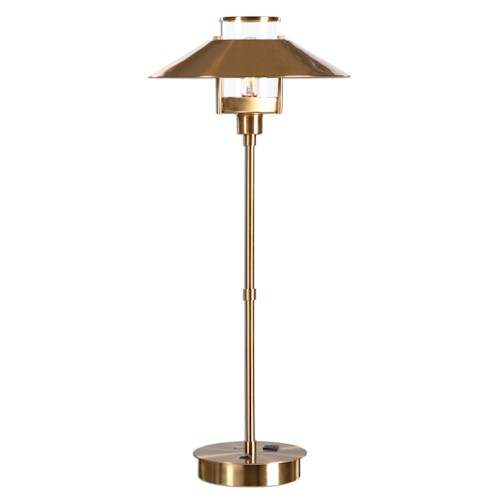 Uttermost Lamps Albaretto Brushed Brass Lamp