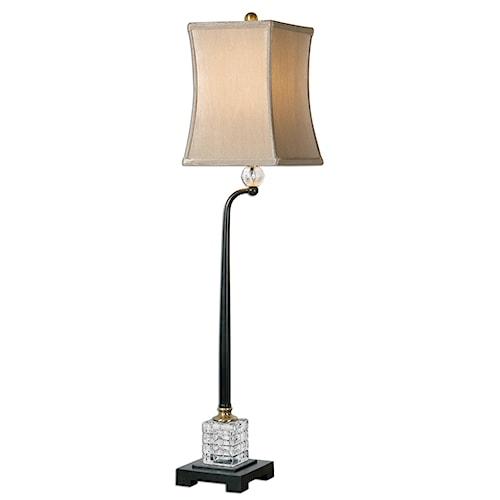 Uttermost Lamps Rondure Bronze Buffet Lamp