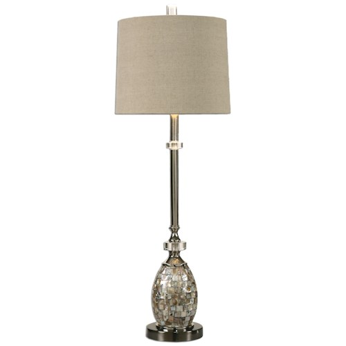 Uttermost Lamps Ceredano Capiz Shell Buffet Lamp