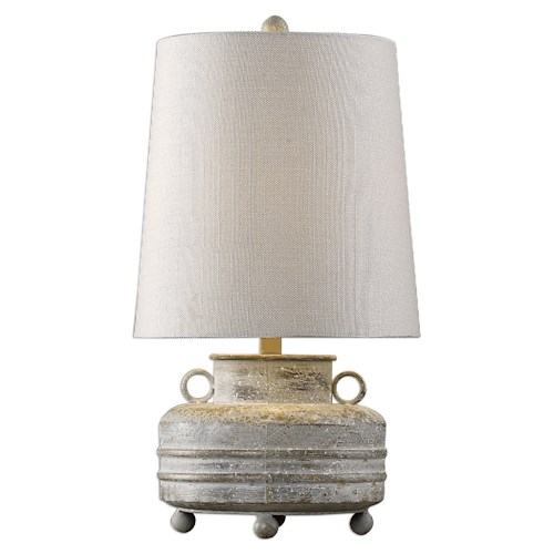 Uttermost Lamps Magothy Textured Metal Lamp