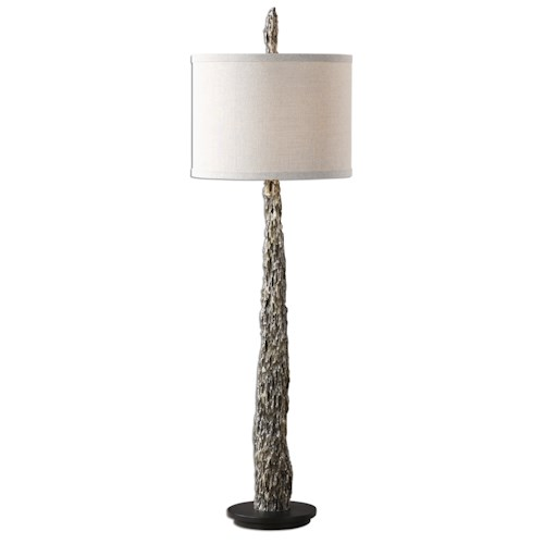 Uttermost Lamps Tegal Old Wood Buffet Lamp
