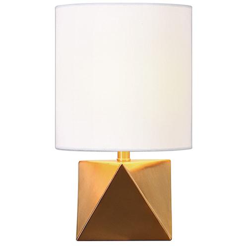 Uttermost Lamps Rhombus Gold Geometric Lamp