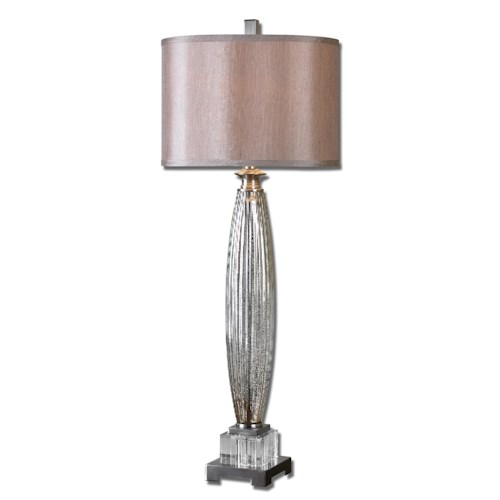 Uttermost Lamps Loredo Mercury Glass Table Lamp