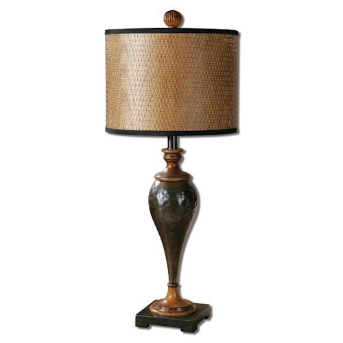 Uttermost Lamps Javini Metal Table Lamp