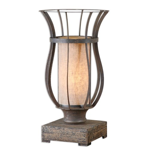 Uttermost Lamps Minozzo Bronze Accent Lamp