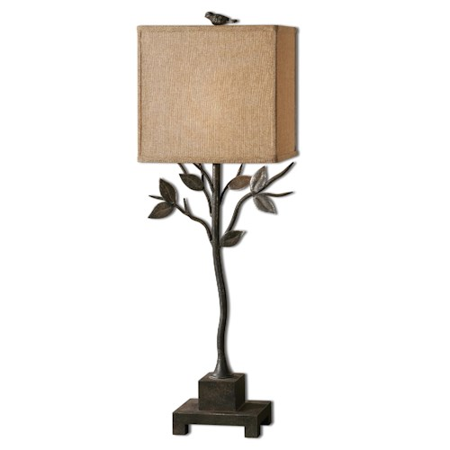 Uttermost Lamps Arbre Metal Buffet Lamp