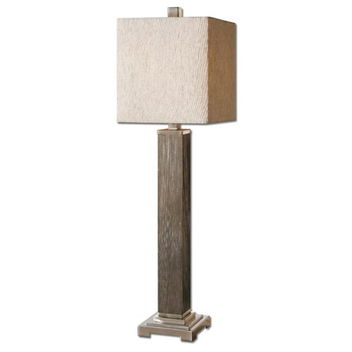 Uttermost Lamps Sandberg Wood Buffet Lamp