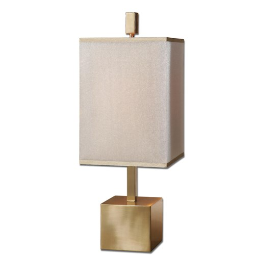 Uttermost Lamps Flannigan Brass Accent Lamp