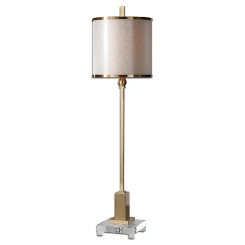 Uttermost Lamps Villena Brass Buffet Lamp