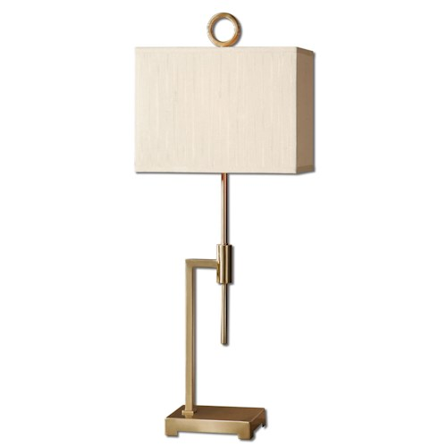 Uttermost Lamps Feldon Coffee Bronze Accent Lamp