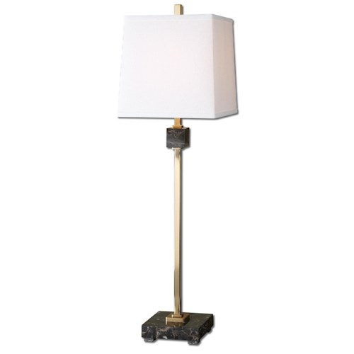 Uttermost Lamps Sandler Coffee Bronze Buffet Lamp