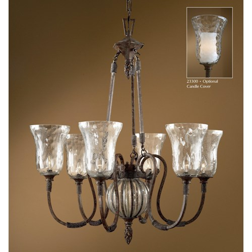 Uttermost Lighting Fixtures Galeana 6-Light Chandelier