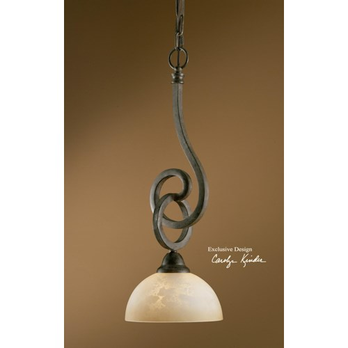 Uttermost Lighting Fixtures Legato Mini Pendant