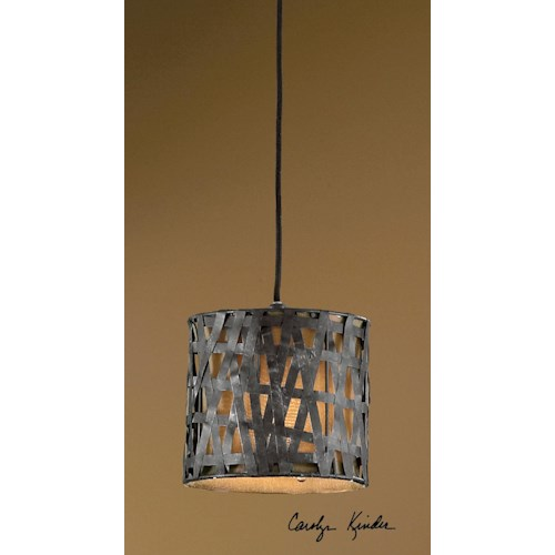 Uttermost Lighting Fixtures Alita Mini Metal Hanging Shade