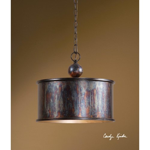 Uttermost Lighting Fixtures Albiano 1 Light Pendant
