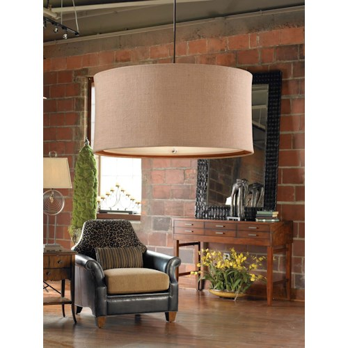 Uttermost Lighting Fixtures Alamo 3 Light Hanging Shade