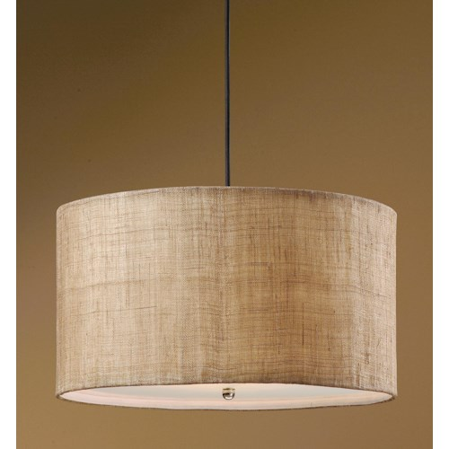 Uttermost Lighting Fixtures Dafina 3 Light Hanging Shade
