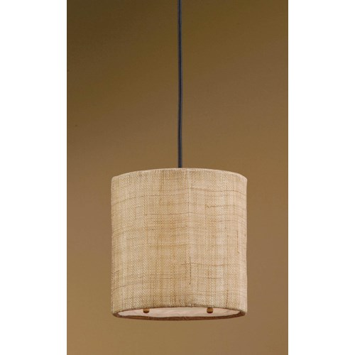 Uttermost Lighting Fixtures Dafina 1 Light Mini Hanging Shade