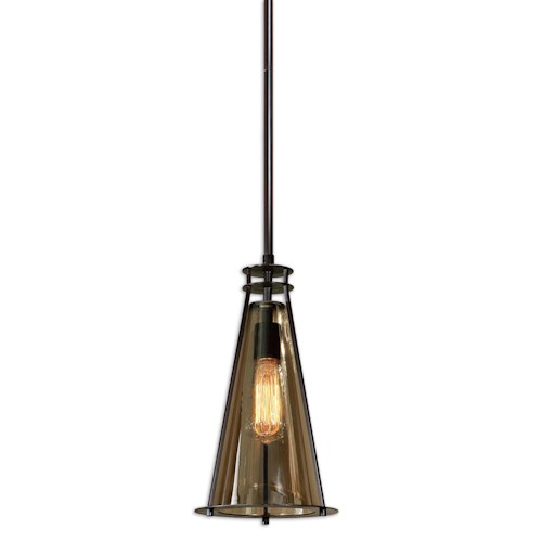 Uttermost Lighting Fixtures Frisco 1 Light Mini Pendant