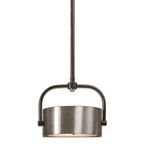 Uttermost Lighting Fixtures Uttermost Belding 1 Light Industrial Mini Pendant