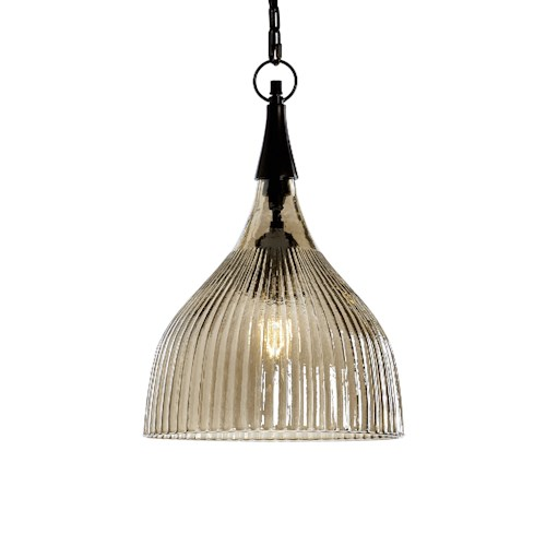 Uttermost Lighting Fixtures Nuvolo 1 Light Glass Mini Pendant