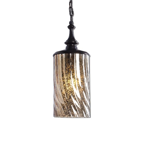 Uttermost Lighting Fixtures Trabes 1 Light Glass Mini Pendant
