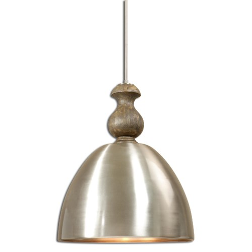 Uttermost Lighting Fixtures Luna 3 Light Aluminum Pendant