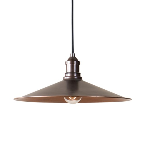Uttermost Lighting Fixtures Barnstead 1 Light Copper Pendant