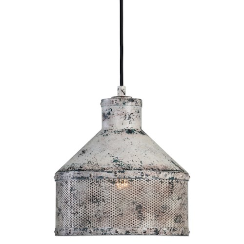 Uttermost Lighting Fixtures Granaio 1 Light Rustic Pendant