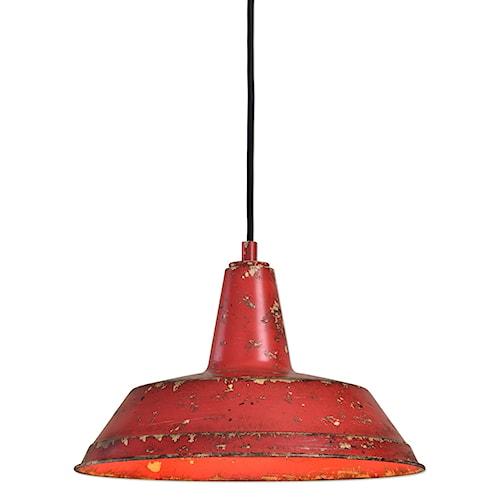 Uttermost Lighting Fixtures Pomodoro 1 Light Distressed Pendant