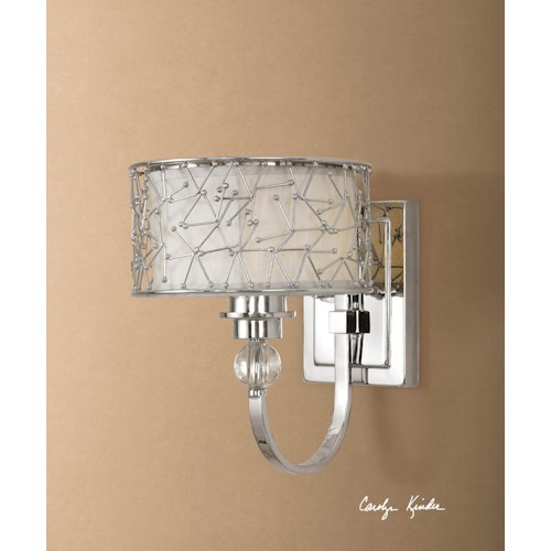 Uttermost Lighting Fixtures Brandon 1 Light Wall Sconce