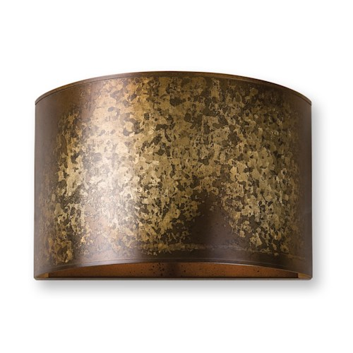 Uttermost Lighting Fixtures Wolcott 1 Light Golden Sconce