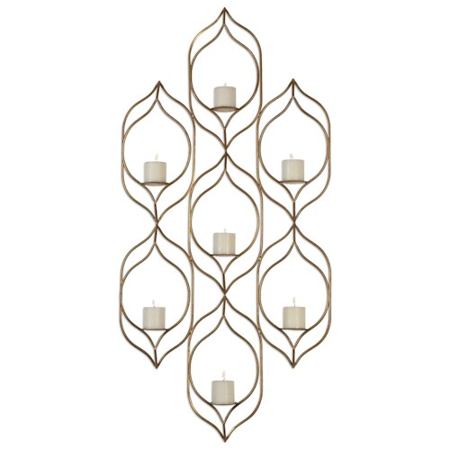 Uttermost Alternative Wall Decor Rovena Wall Sconce